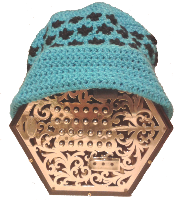 Concertina in a hat